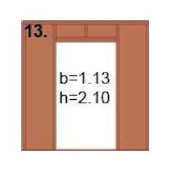 Panneaux Type 13