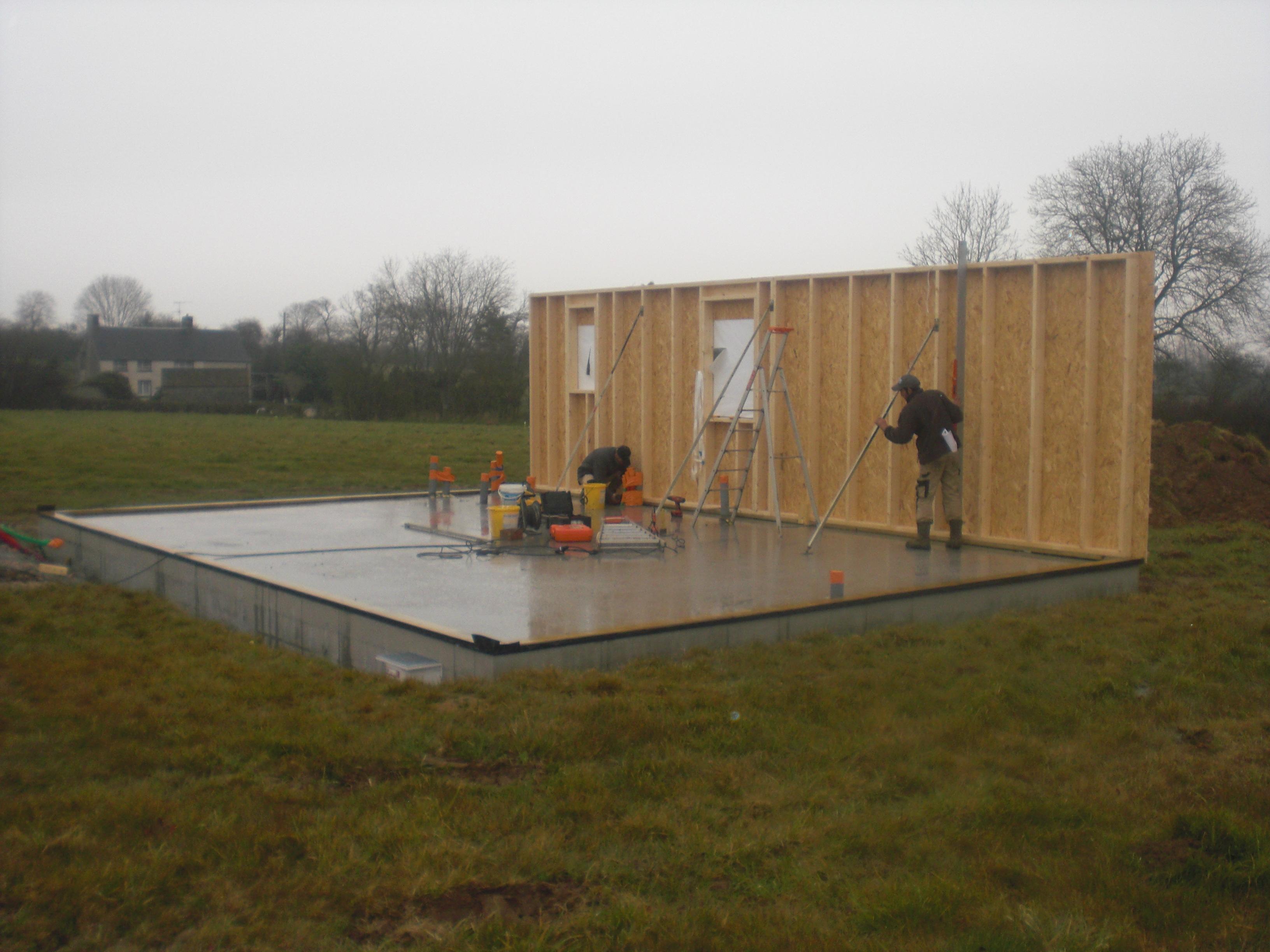 kit maison ossature metallique prix m2 cheap bois bbc becokit accueil slider3 planete bois