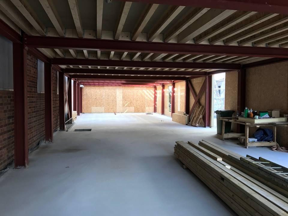 Hall entrepot panneaux sips couverture toit et murs (25)