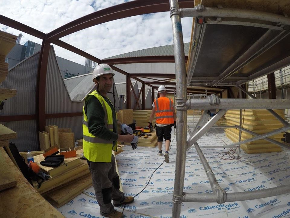 Hall entrepot panneaux sips couverture toit et murs (29)