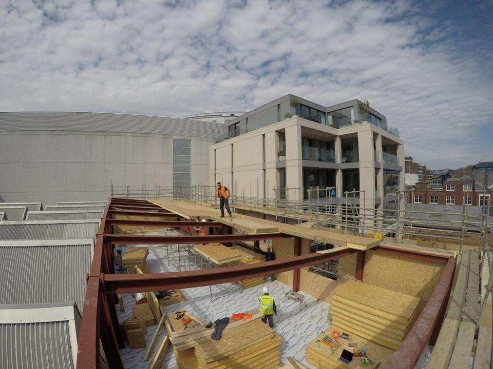 Hall entrepot panneaux sips couverture toit et murs (30)