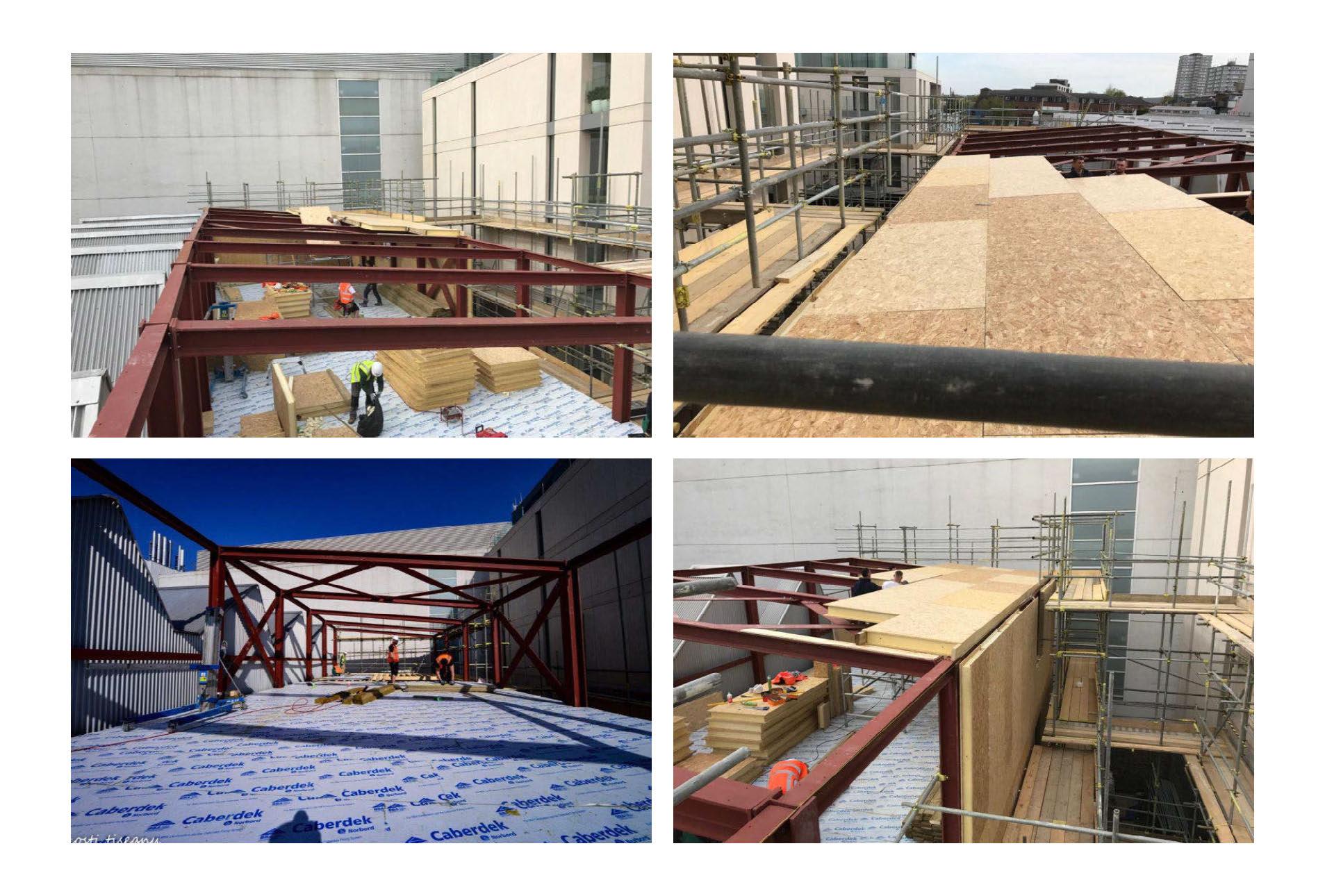 Hall entrepot panneaux sips couverture toit et murs par 4 photo (1)