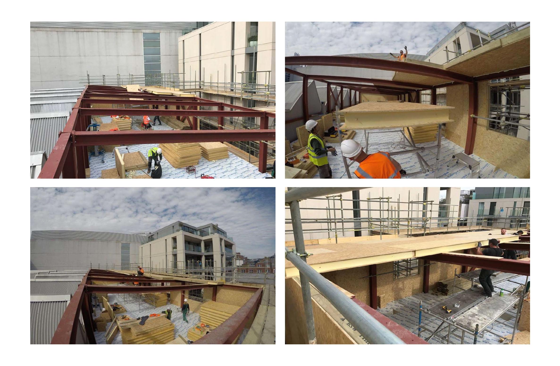 Hall entrepot panneaux sips couverture toit et murs par 4 photo (3)