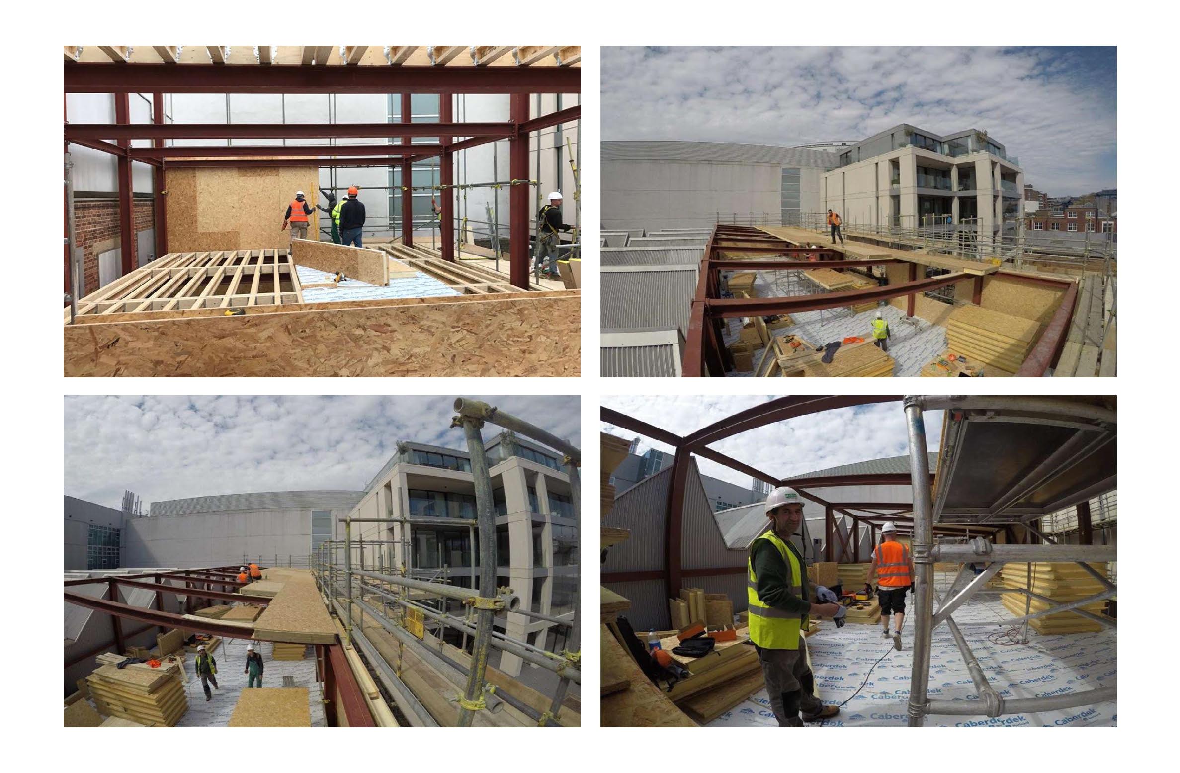 Hall entrepot panneaux sips couverture toit et murs par 4 photo (5)
