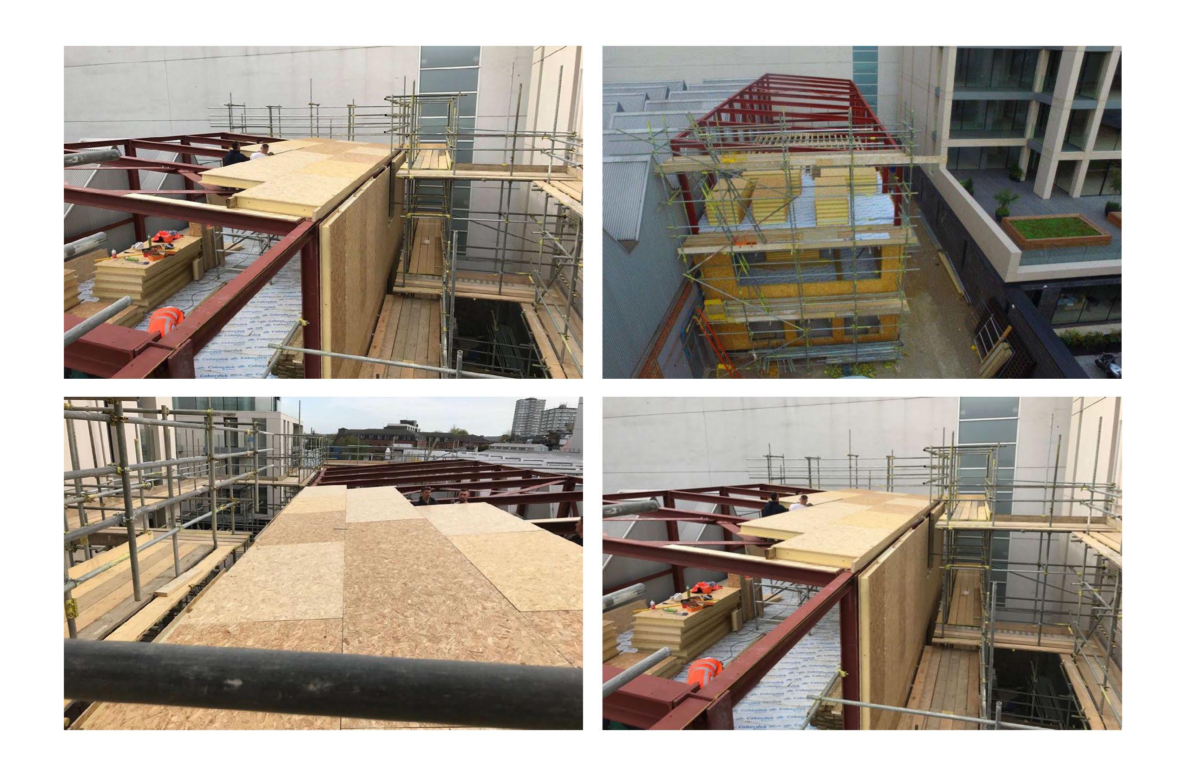 Hall entrepot panneaux sips couverture toit et murs par 4 photo (6)