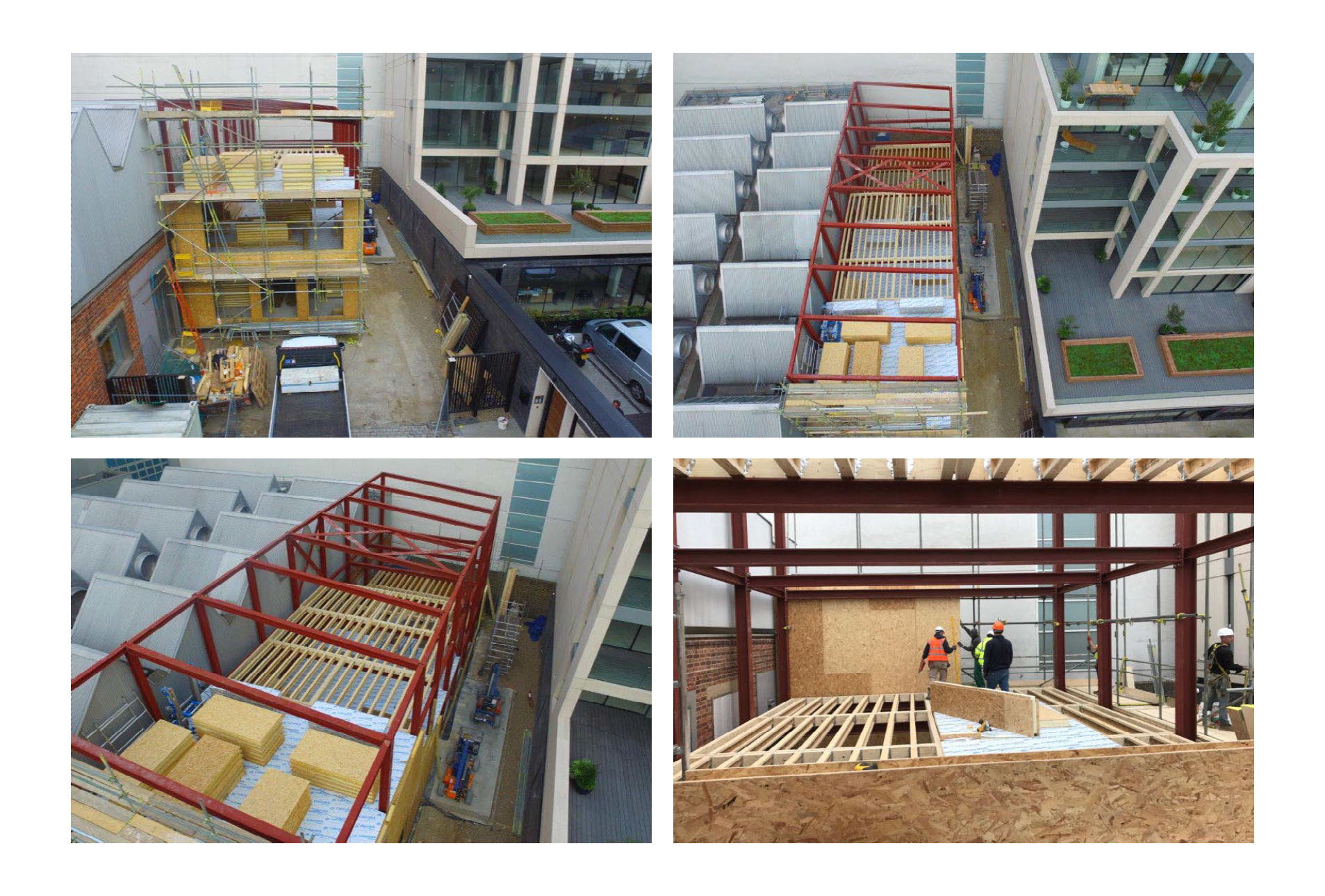 Hall entrepot panneaux sips couverture toit et murs par 4 photo (7)