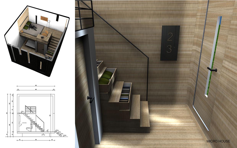 Mini maison 33 m²