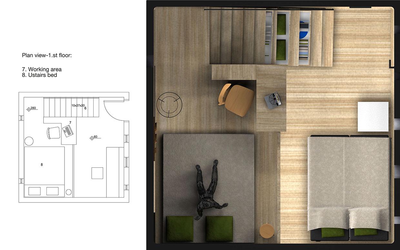 Mini maison 33 m² 01
