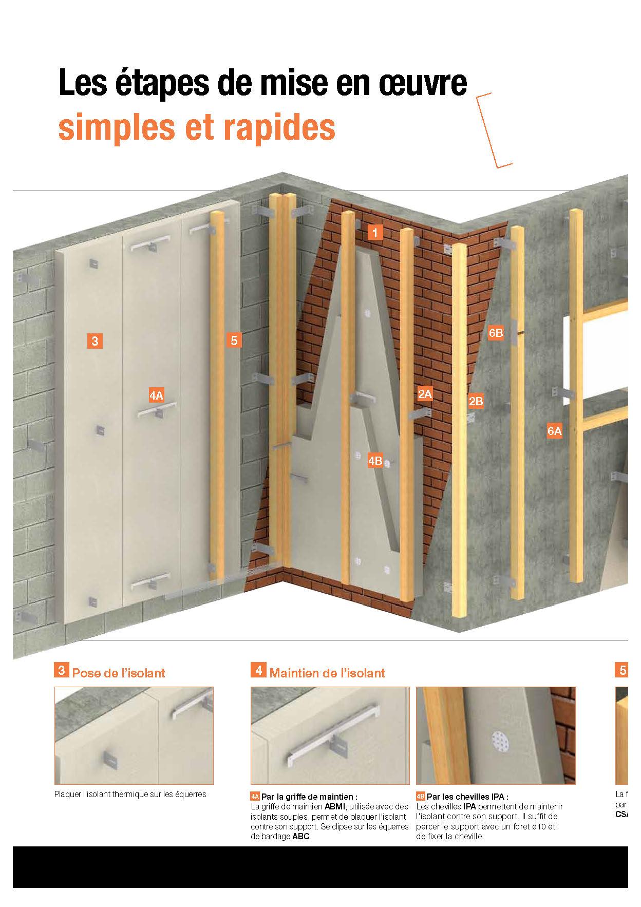 Isolation thermique par l ext rieur panneaux maison - Isolation exterieure ossature bois ...