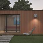 Maison mini studio minergie 25 m² 06