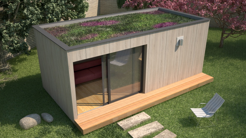 maison mini studio minergie 25 m 08 panneaux maison. Black Bedroom Furniture Sets. Home Design Ideas