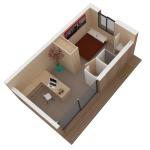 Maison mini studio minergie 25 m² 10