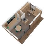 Maison mini studio minergie 25 m² 13