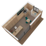 Maison mini studio minergie 25 m² 14