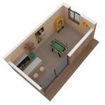 Maison mini studio minergie 25 m² 19
