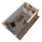 Maison mini studio minergie 25 m² 20
