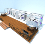 Chambre spatiale container 40 pieds (7)