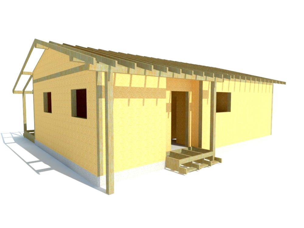 Kit maison 77 m² panneaux sips httpwww.panneauxmaisonossaturebois.com (2)