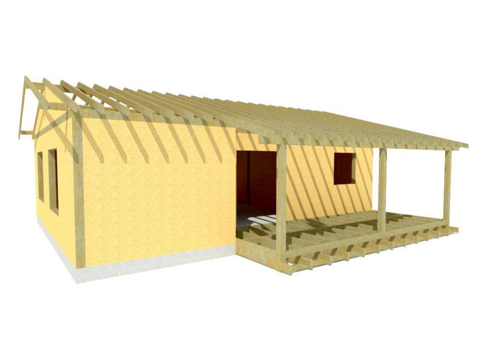 Kit maison 77 m² panneaux sips httpwww.panneauxmaisonossaturebois.com (3)