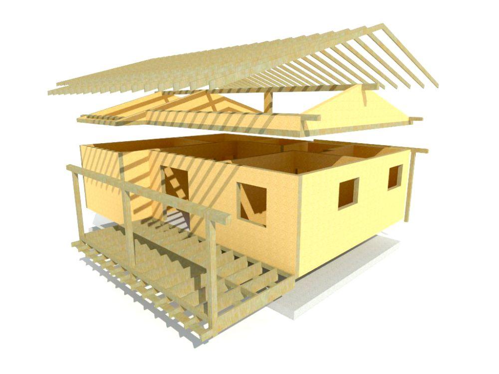 Kit maison 77 m² panneaux sips httpwww.panneauxmaisonossaturebois.com (4)