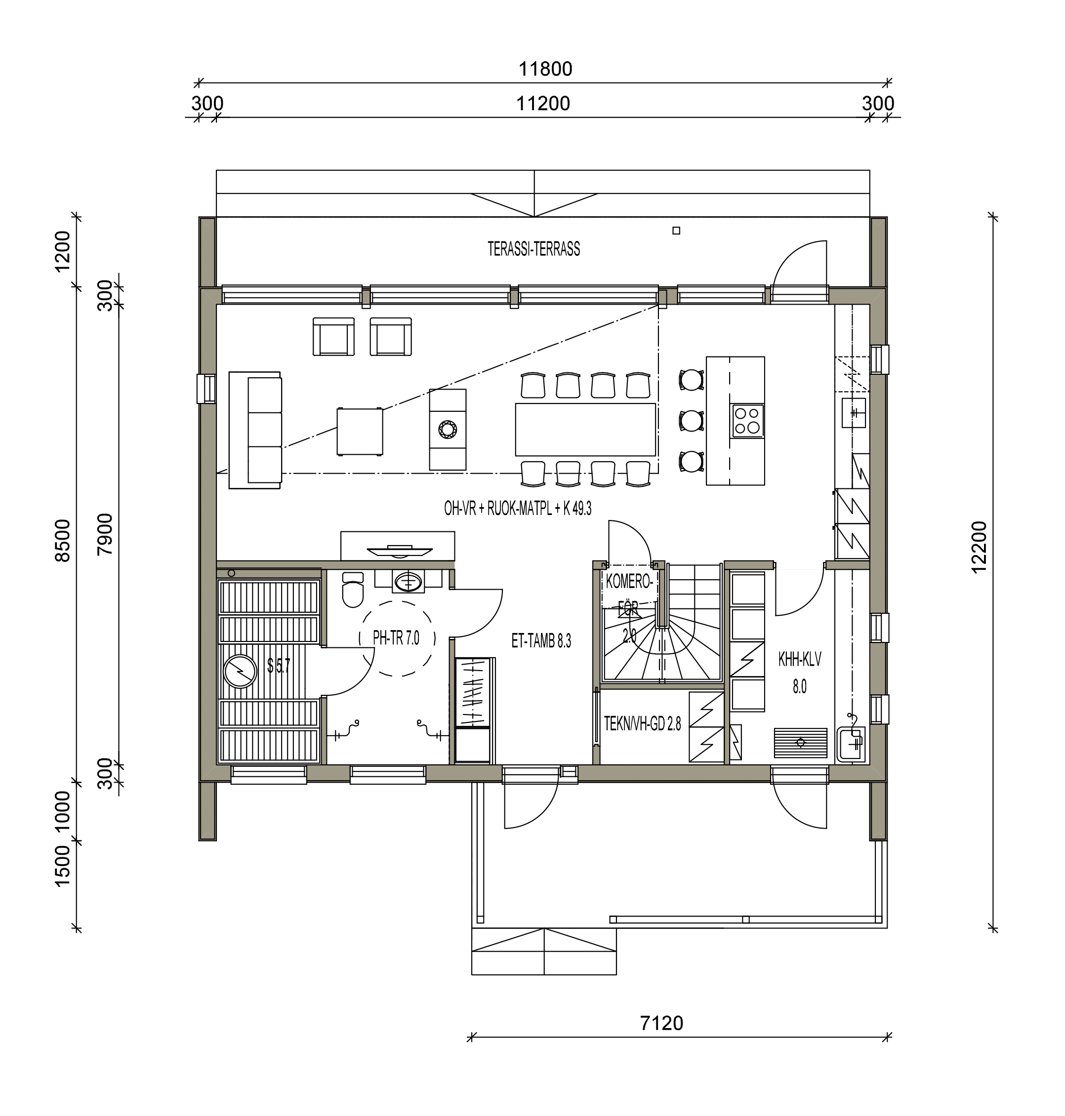 maison sips cubique plan 150 m² 02