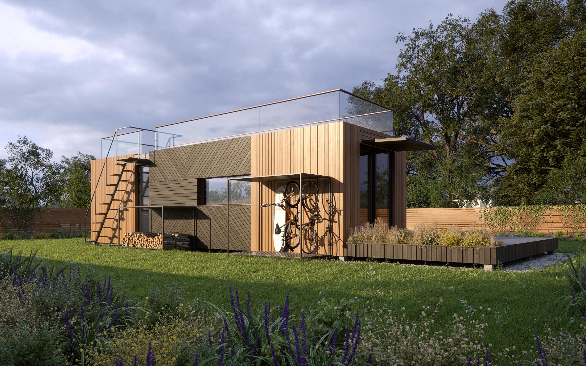 studio modulable 42 m² panneaux ossature bois.com (4)