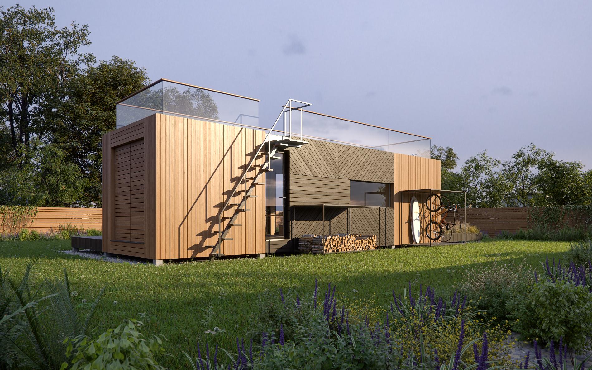 studio modulable 42 m² panneaux ossature bois.com (6)