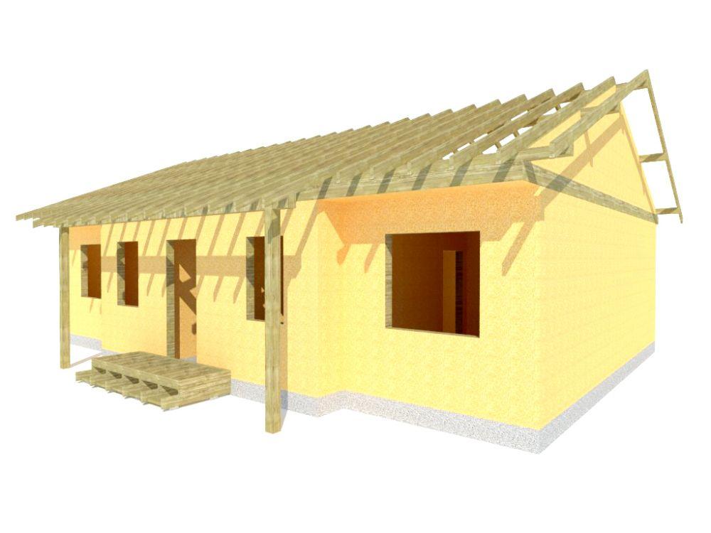 Kit maison 101 m² panneaux sips httpwww.panneauxmaisonossaturebois.com (2)