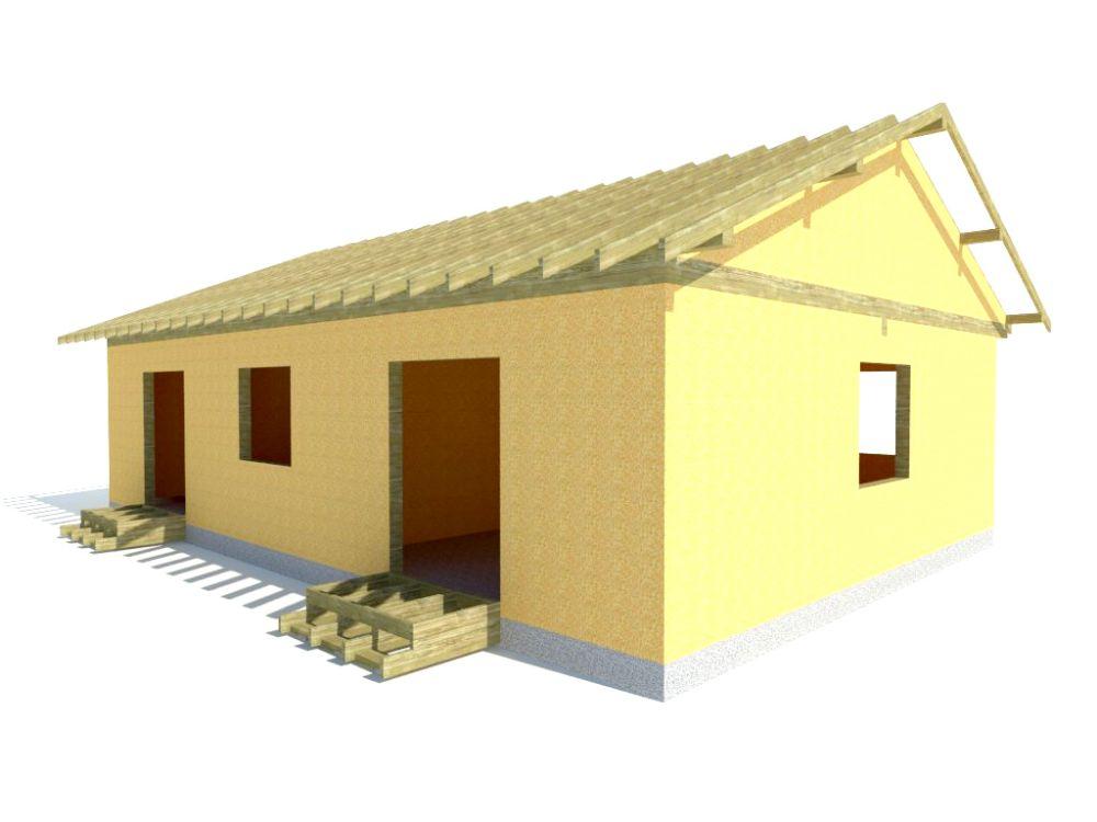 Kit maison 101 m² panneaux sips httpwww.panneauxmaisonossaturebois.com (4)