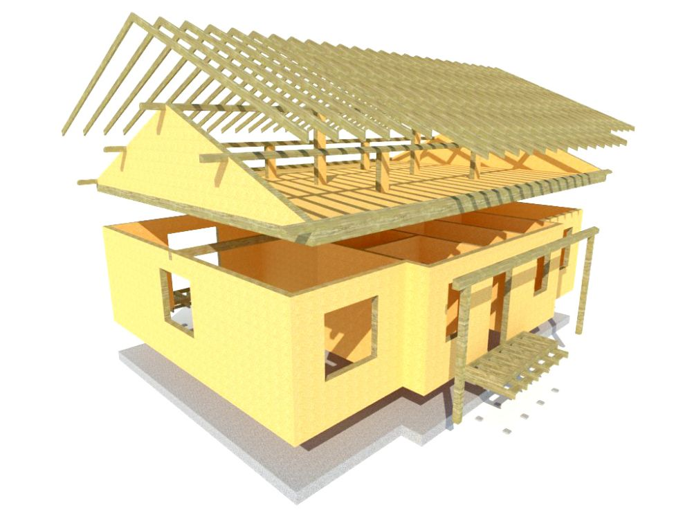 Kit maison 101 m² panneaux sips httpwww.panneauxmaisonossaturebois.com (6)