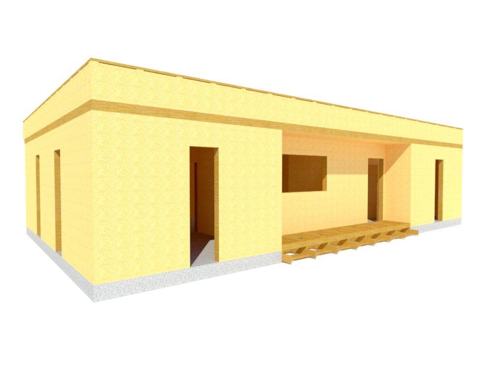 Kit maison 103 m² panneaux sips httpwww.panneauxmaisonossaturebois.com (3)