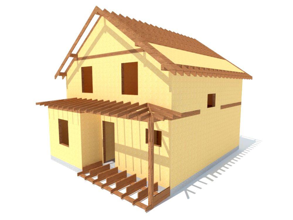 Kit maison 122 m² panneaux sips httpwww.panneauxmaisonossaturebois.com (5)