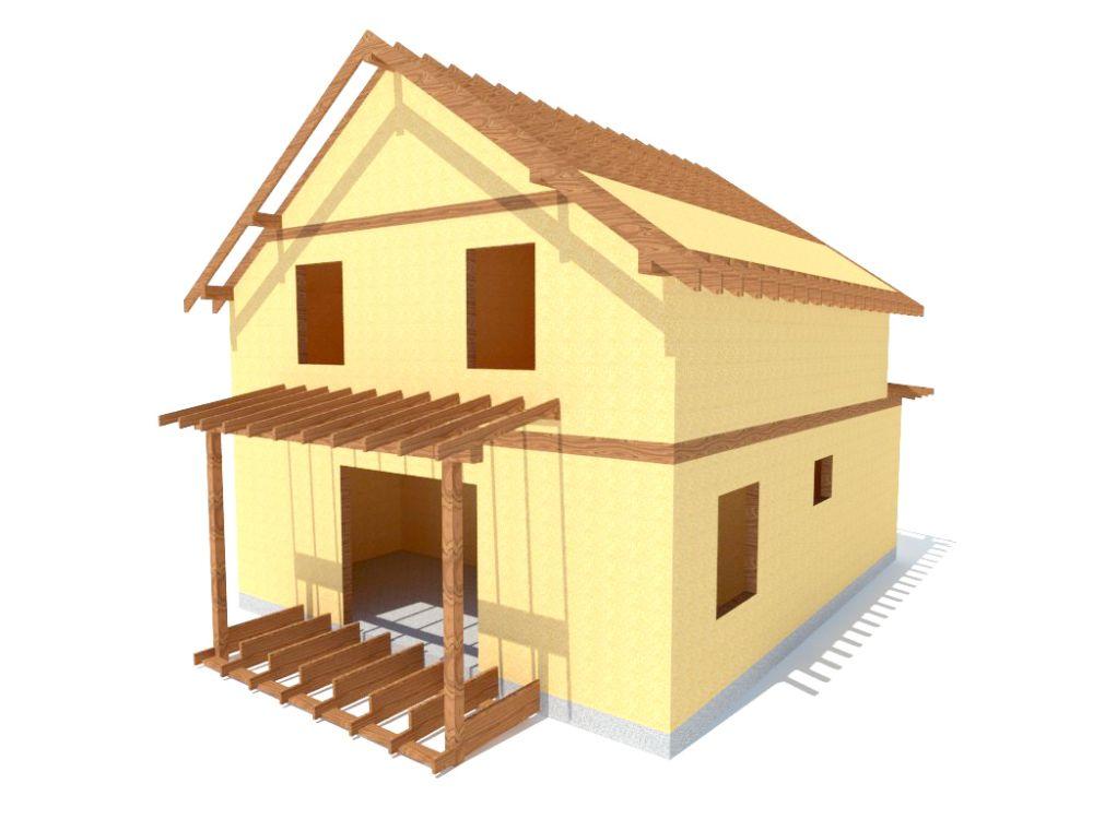 Kit maison 123 m² panneaux sips httpwww.panneauxmaisonossaturebois.com (5)