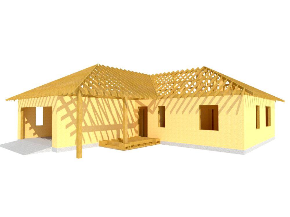 Kit maison 132 m² panneaux sips httpwww.panneauxmaisonossaturebois.com (2)