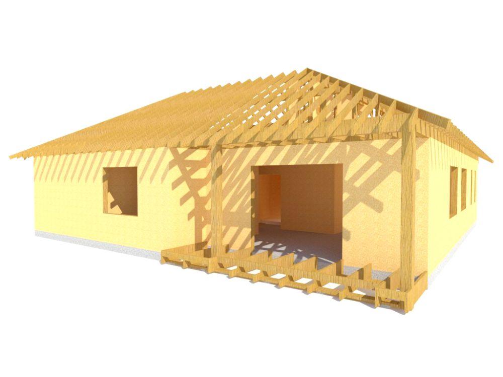 Kit maison 132 m² panneaux sips httpwww.panneauxmaisonossaturebois.com (3)
