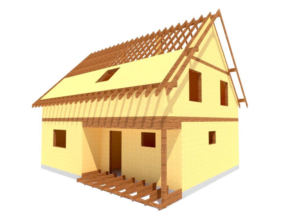 Kit maison 150 m² panneaux sips httpwww.panneauxmaisonossaturebois.com (4)