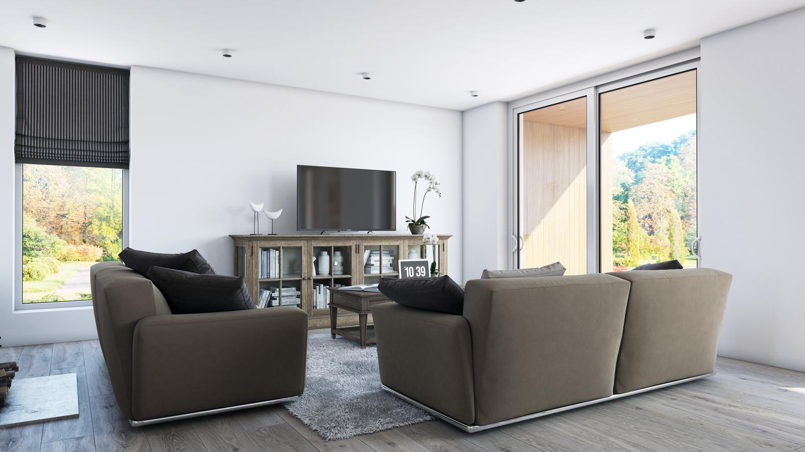 Panneaux maison ossature bois Nordi 04 L 133 m²