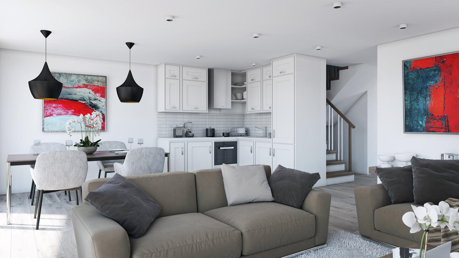 Panneaux maison ossature bois Nordi 05 L 133 m²