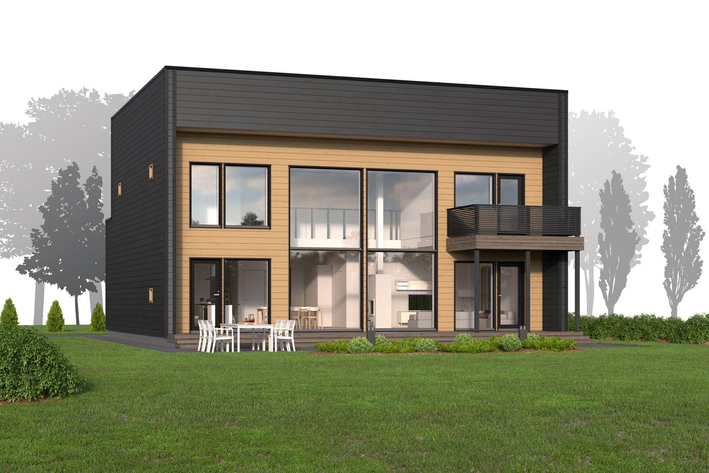 maison sips cubique 200 m² 01