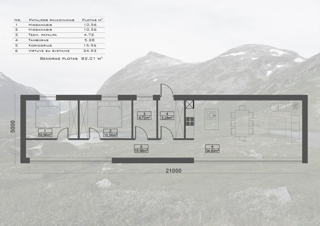 maison sips cubique 82 m² plan 03