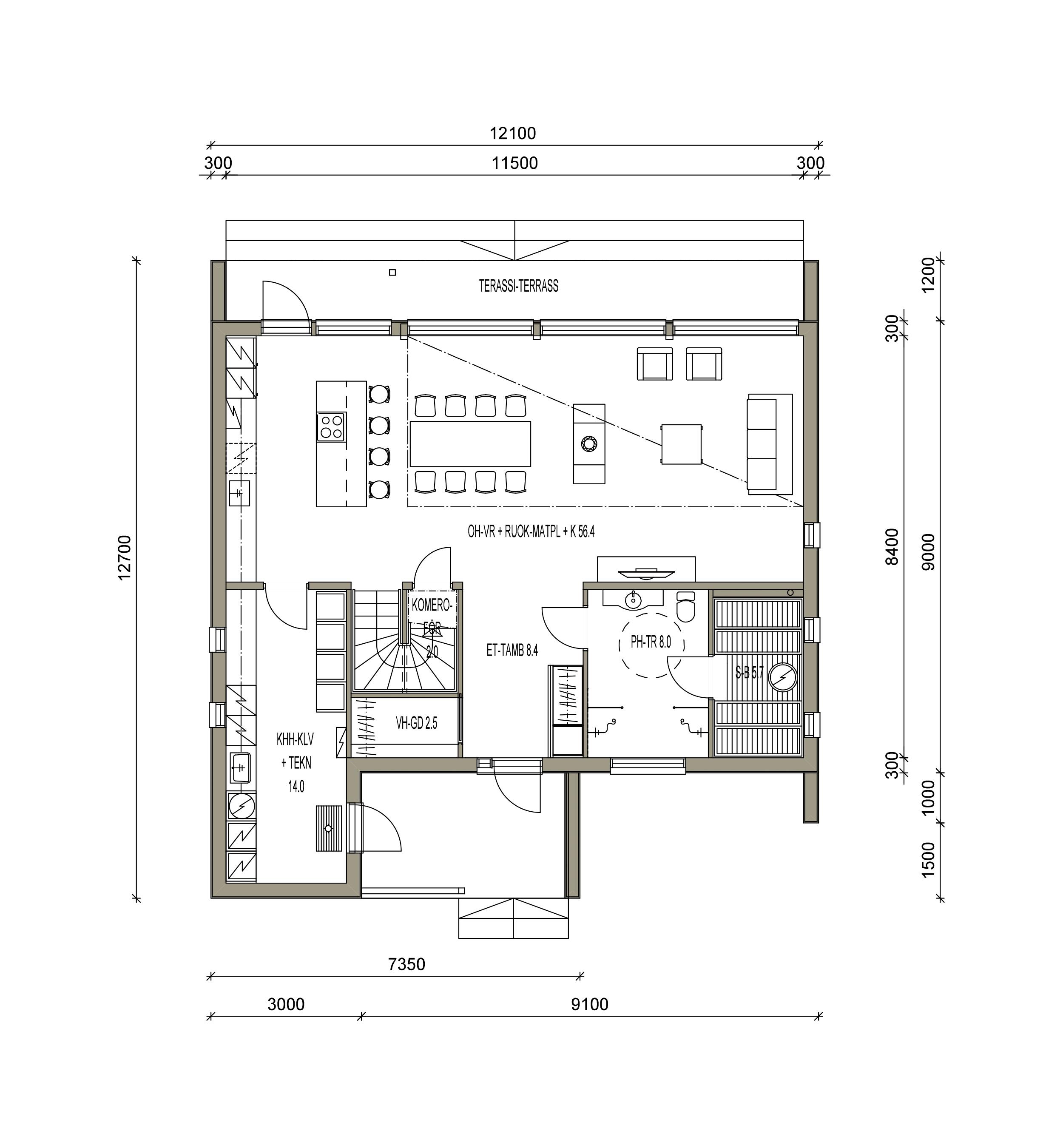 maison sips cubique plan 170 m² 02