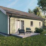 Structure chalet ossature bois 50 m² (1)