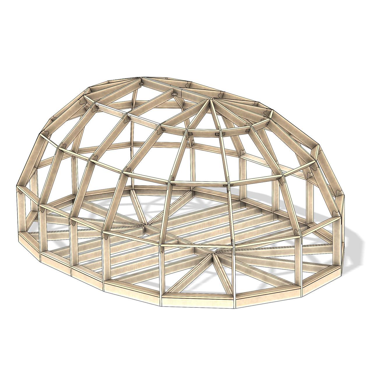 Dome allongé de 39.6 M² 04