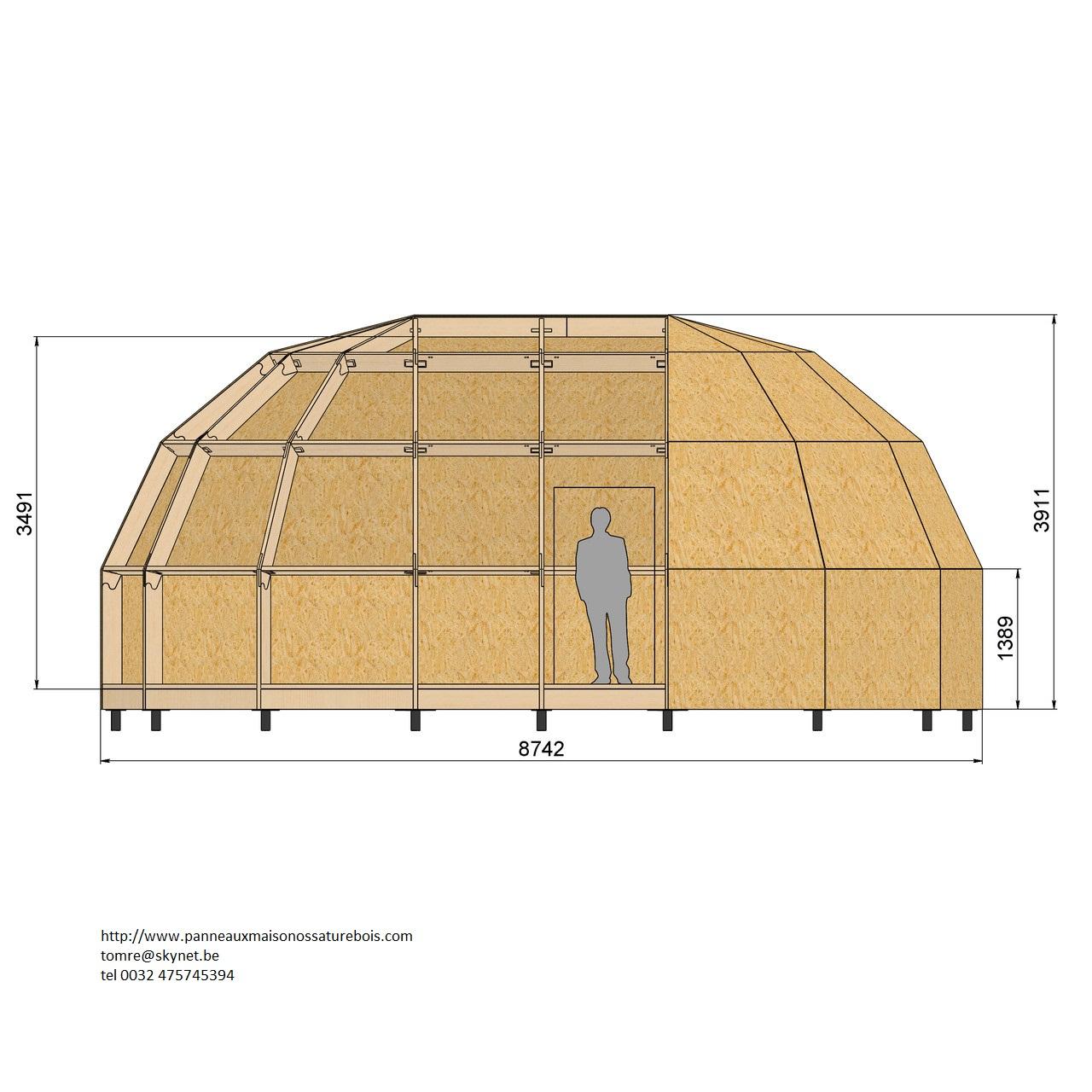 Dome allongé de 39.6 M² 05