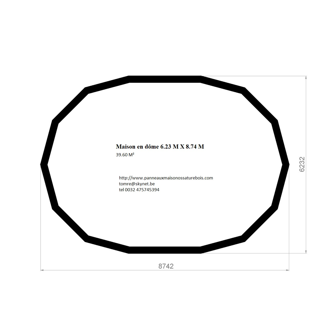 Dome allongé de 39.6 M² 06