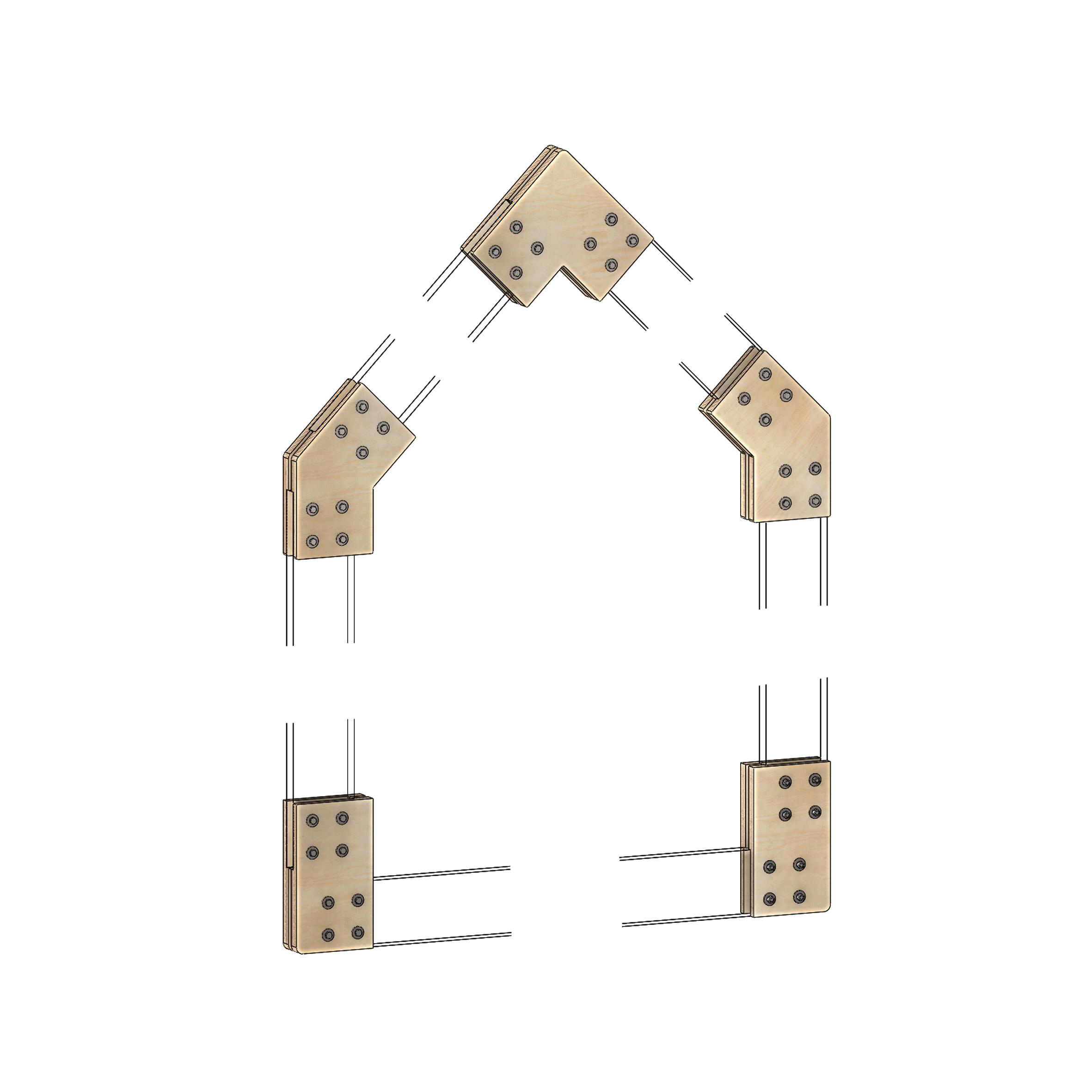 Connecteurs d'assemblage maison V 200. 01 (4)